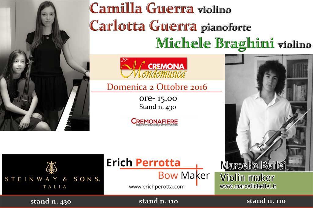Guerras e Braghini Cremona Mondomusica 2016