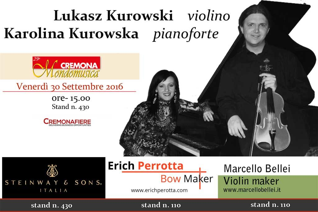 Kurowski a Cremona Mondomusica 2016